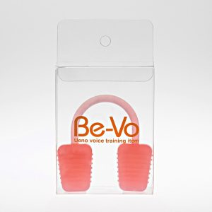 ボイストレーニング器具 Be-Vo [ビーボ] 自宅で簡単発声練習(ピンク)、ボイトレ、ボイストレーニング、カラオケ上達、カラオケ、歌