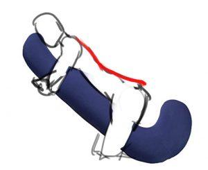 、抱き枕、腰痛、改善、猫背、姿勢、